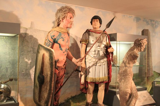 Dover Museum: Antagonists During the Roman Invasion
