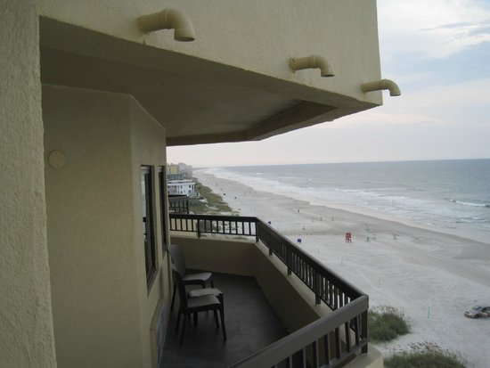 Best Western New Smyrna Beach Hotel & Suites: View from the balcony of room 614