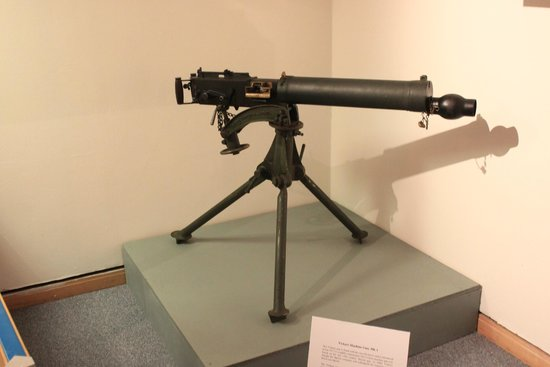 Dover Museum: German Machine Gun Mounted For Infantry