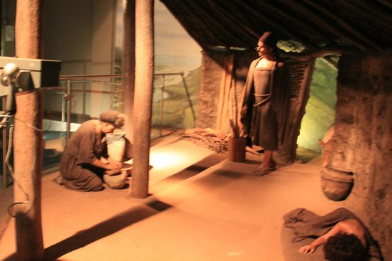 Dover Museum: Depiction of a Roman Dwelling