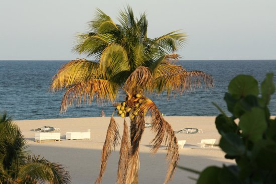 Lago Mar Beach Resort & Club: View from room close to sunset