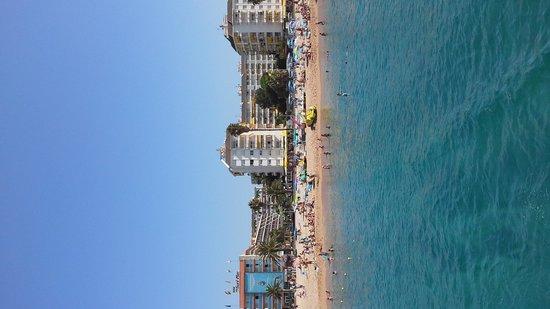 H·TOP Royal Beach: spiaggia di fenals
