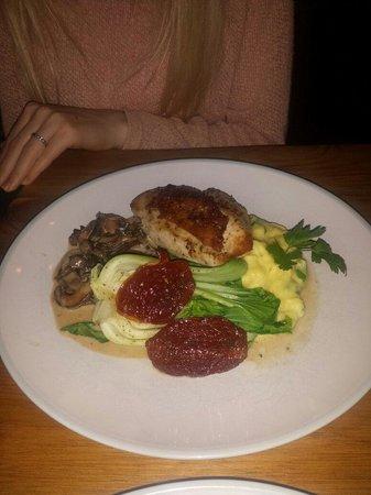 Porgu: Chicken with honey and mustard