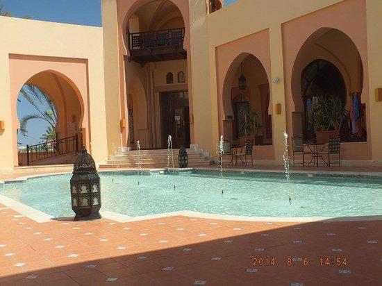 Steigenberger Coraya Beach : Central area of the hotel