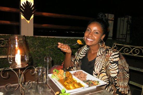 Velisa's : coconut curry shrimp