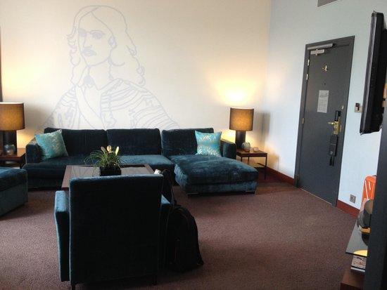 Sofitel Legend The Grand Amsterdam: Prestige Suite (Living Room)