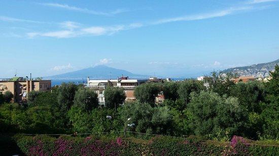 Conca Park Hotel: Daytime view of Vesuvius