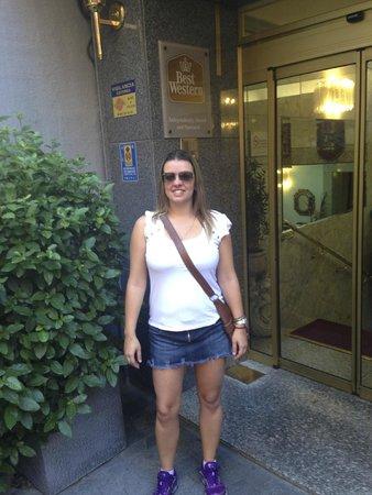 Best Western Hotel Los Condes: Fachada do Hotel
