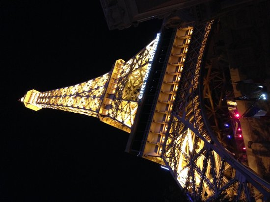 Eiffel Tower Experience at Paris Las Vegas : View from the bottom