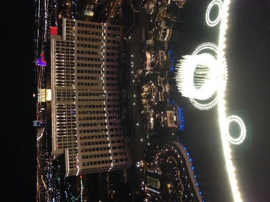 Eiffel Tower Experience at Paris Las Vegas : Grand view from the top!