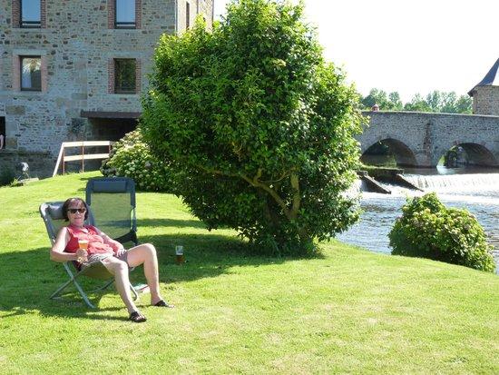 BEST WESTERN Le Moulin de Ducey : la presqu'ile