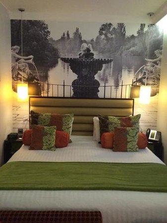 Hotel Indigo London-Paddington: nice and cosy bed