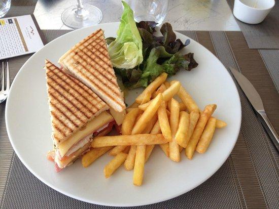 Golf d'Essaouira Mogador : club sandwich