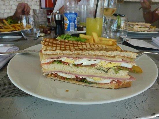 Golf d'Essaouira Mogador : club sandwich hummmm