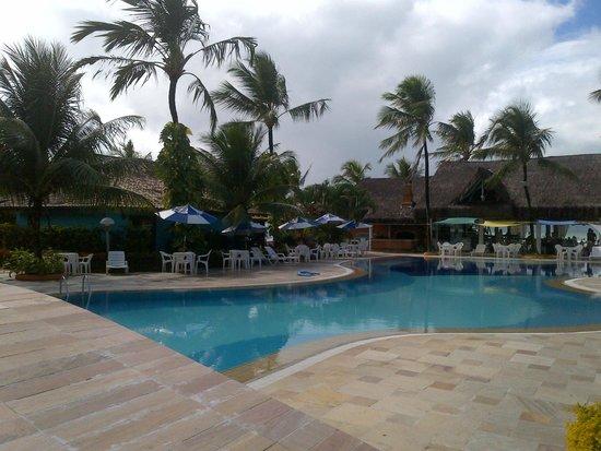 Mar Paraiso Resort : Piscina, Casa e Restaurante