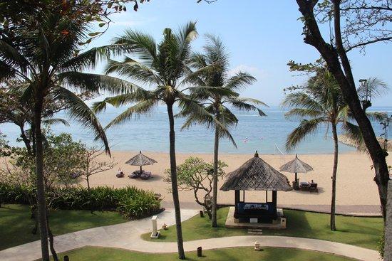 Conrad Bali: Room with a view!