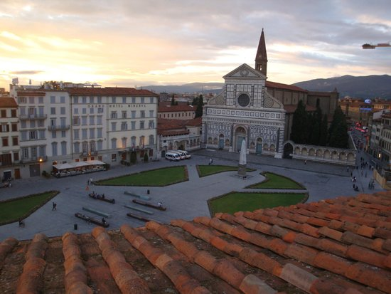 Santa Maria Novella Hotel : 屋上テラスからの眺め