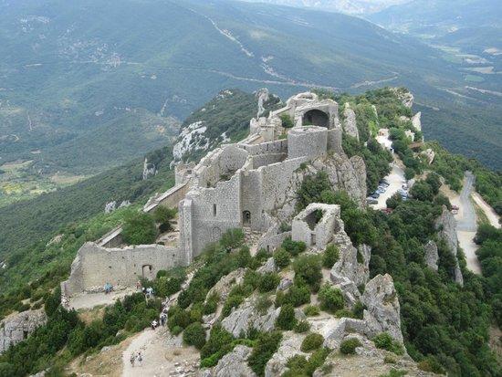 Château de Peyrepertuse : Een spectaculaire ruïne