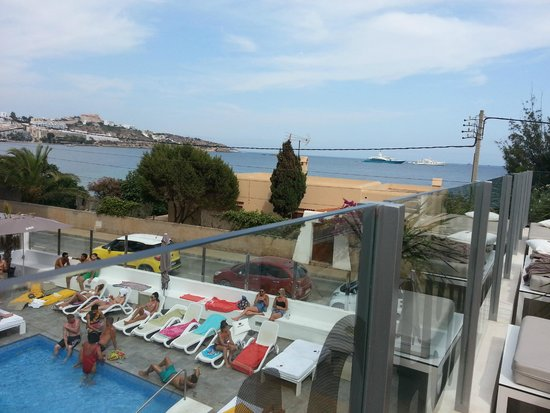 Ryans Ibiza Apartments: view from terrace
