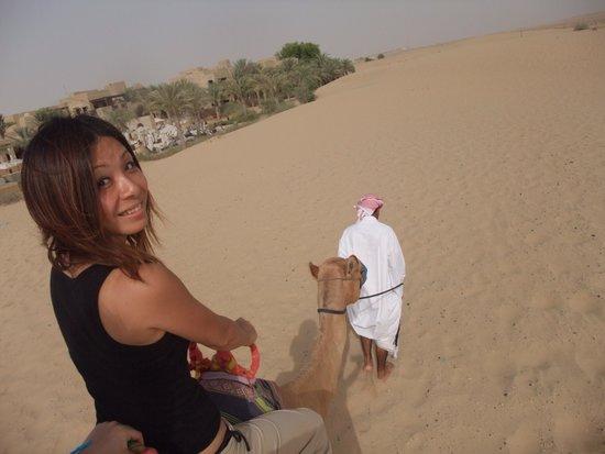 Bab Al Shams Desert Resort & Spa: キャメルライド