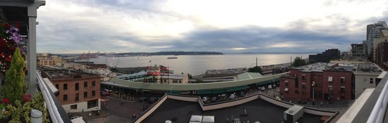 Inn at the Market: Panorama from rooftop
