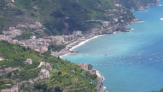 Conca Park Hotel: View from Ravello
