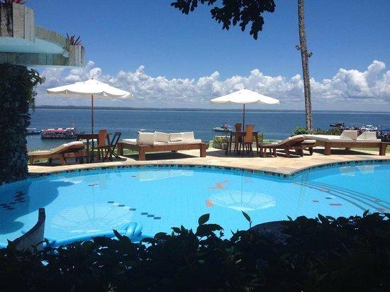 """Portaló Boutique Hotel: Vista da Porta do Quarto """"O Velho e o Mar"""""""