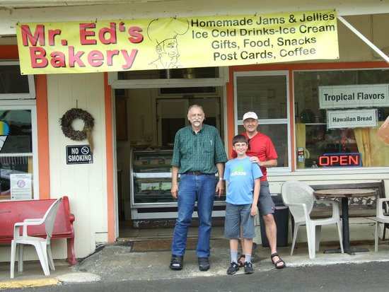 Mr. Ed's Bakery: Mr. Ed likes to share his stories with customers