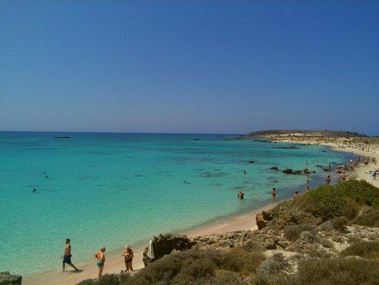 Playa de Elafonisi: vvista