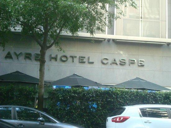 Ayre Hotel Gran Via : Placa sinalizadora