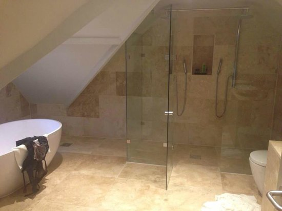Boringdon Hall Hotel and Spa: Amazing shower
