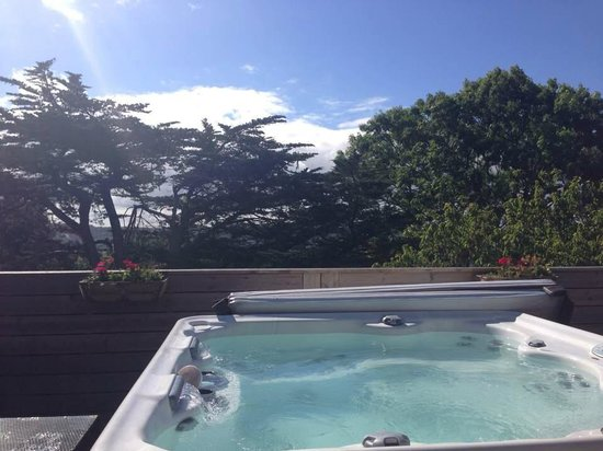Boringdon Hall Hotel and Spa: Hot tub