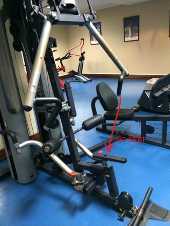 TUI BLUE Falesia: The only multi-exercise machine with no seat