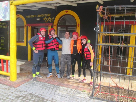 SA Forest Adventures Kleinmond: Getting ready for an adventure