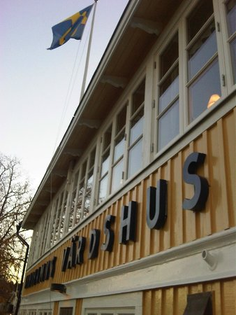 Sandhamns Vardshus Restaurant: yellow :)