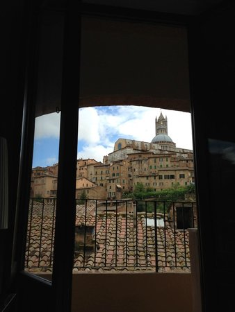 Hotel Alma Domus: view from my room