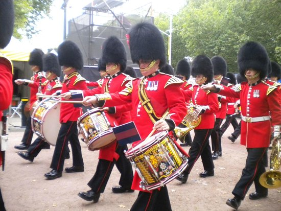 Changing of the Guard : Cambio de guardia