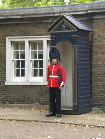 Changing of the Guard : Guarda en el descanso de los caballos