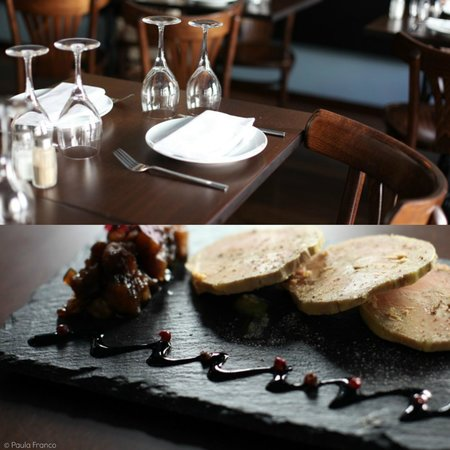 Foie gras au torchon maison picture of la parisienne - Foie gras au torchon maison ...