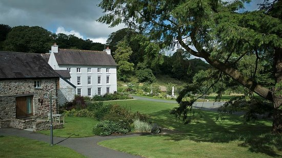 Grove of Narberth: Main Hotel with Preseli Loft to the far left