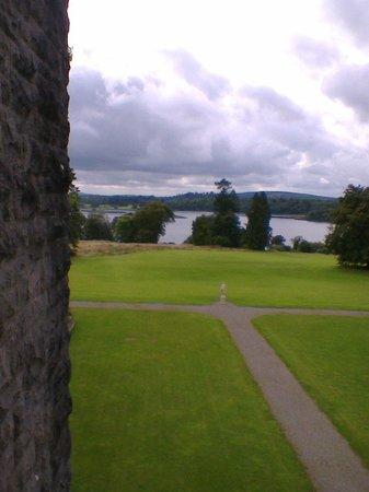 Kilronan Castle Hotel & Spa: View from room