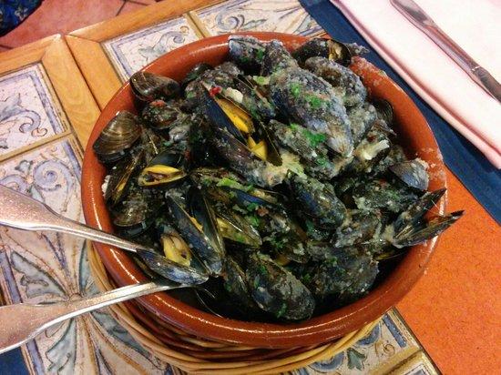 La Concha : Mussels