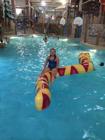 Great Wolf Lodge : Indoor pool