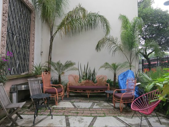 Casa Comtesse: Outdoor seating