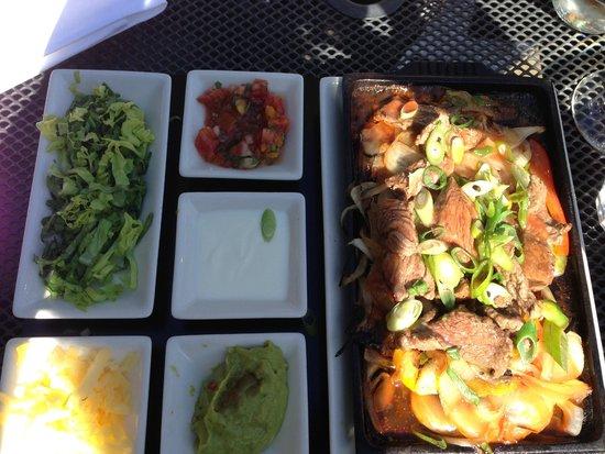 The Blackhouse Grill - Chester: Steak Filet Fajita
