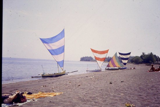 Lovina Beach diapo 1985