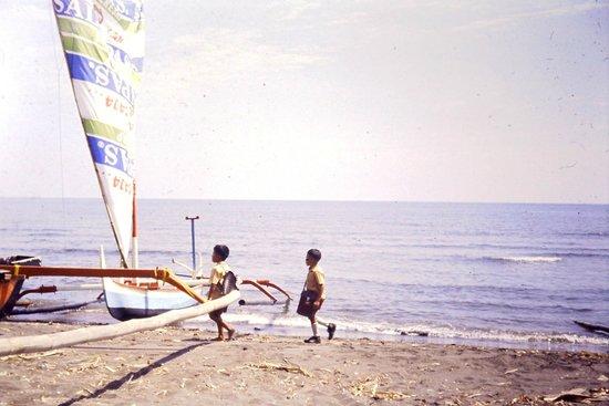 Lovina Beach : Lovina diapo 1985