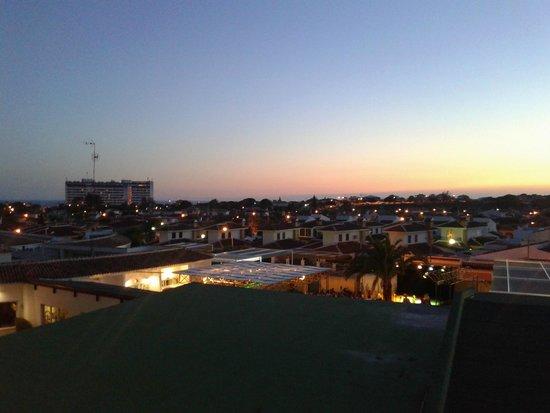 Carabela Beach & Golf Hotel: Atardecer desde la Habitacion