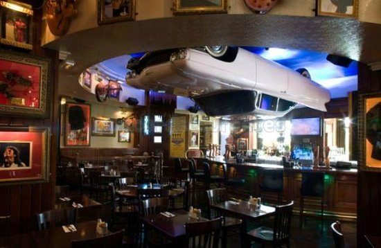 Hard Rock Cafe : Interior