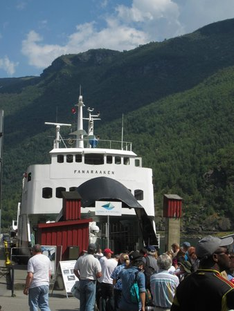 Fjord Tours: The ferry for the fjord portion of the tour (beware the $15 beer!)
